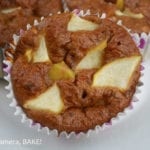 #Healthy Apple Muffins. Grain free, dairy free, refined sugar free and #Paleo. Though eating these you would never know! Click the photo for the #recipe #dessert